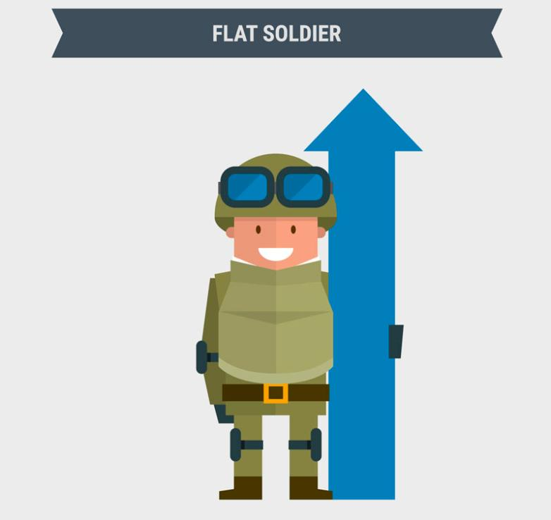 To Hold The Arrow Soldiers Vector