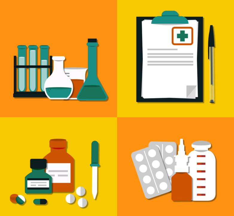 4 Fabulous Elements Of Medical Illustration Vector