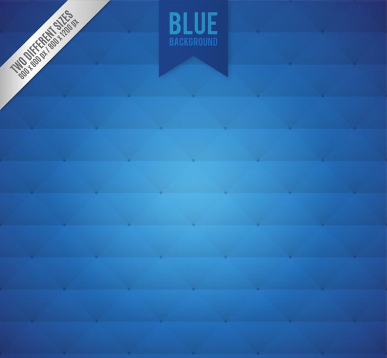 Blue Diamond Background Vector