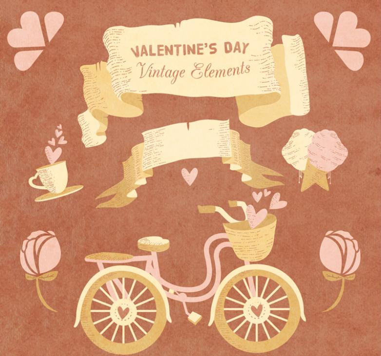 7 Elements Of Style Restoring Ancient Ways Is Valentine's Day Vector