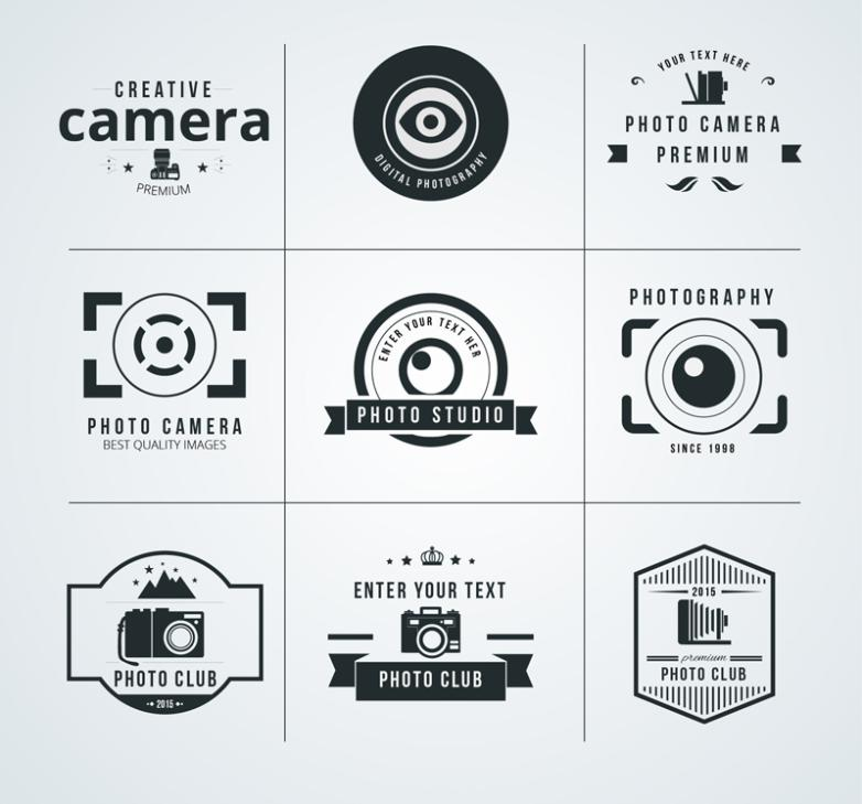 Nine New Creative Photography Vector