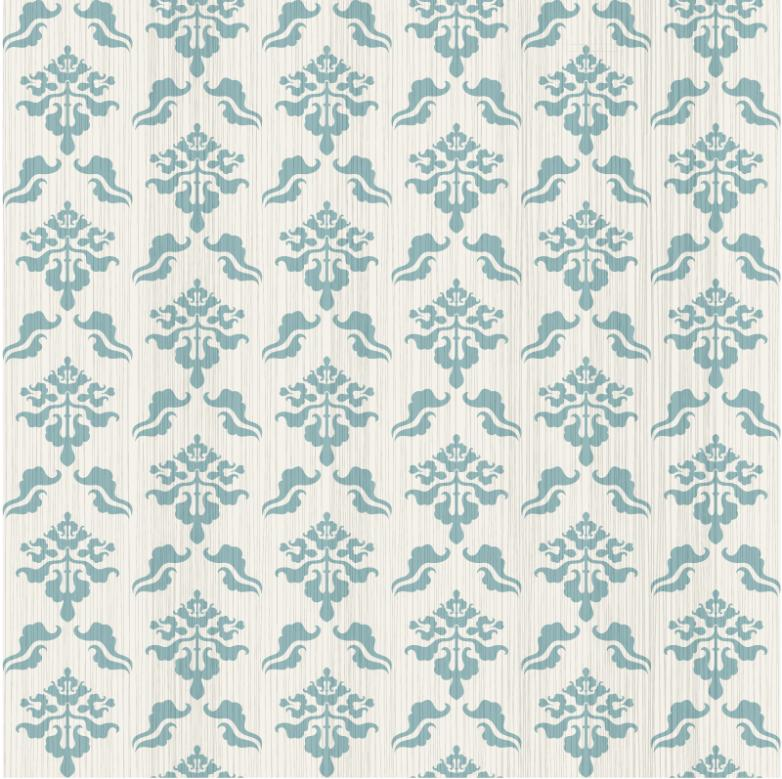 Blue Pattern Seamless Background Restoring Ancient Ways Vector
