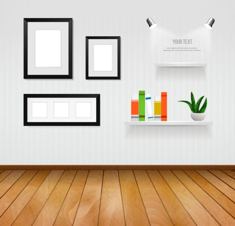Concise Household Design Vector
