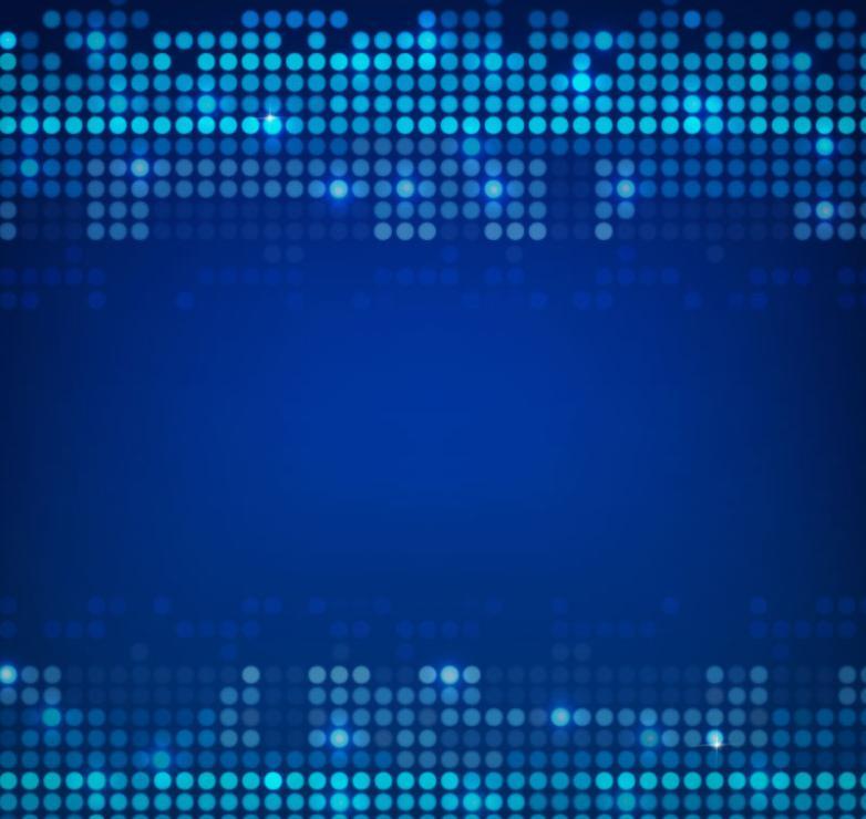 Stylish Blue Dots Background Vector