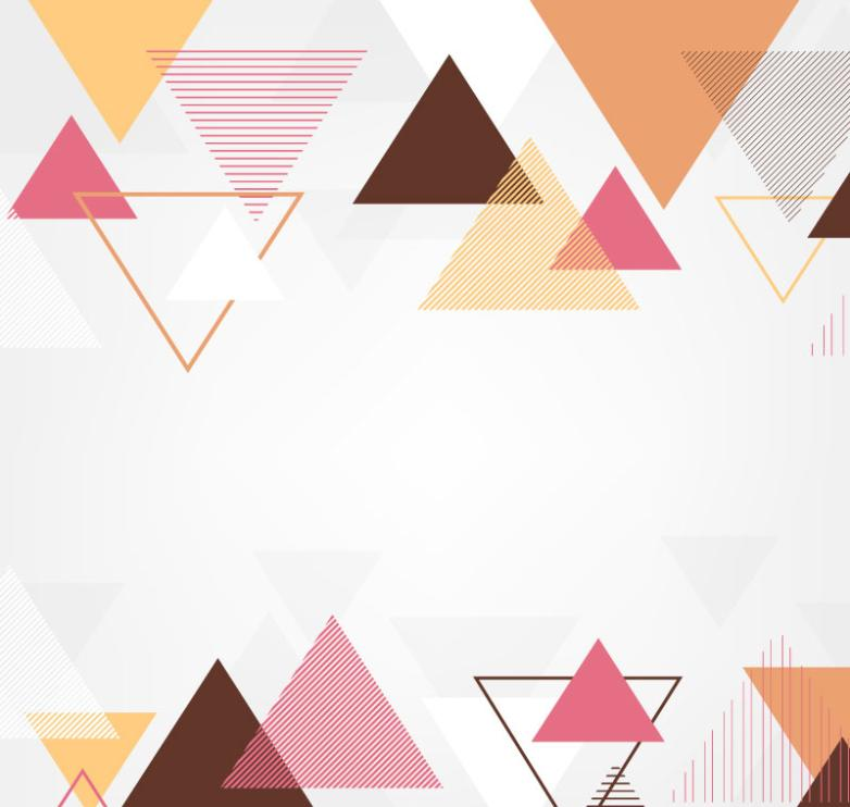 Creative Triangular Background Vector