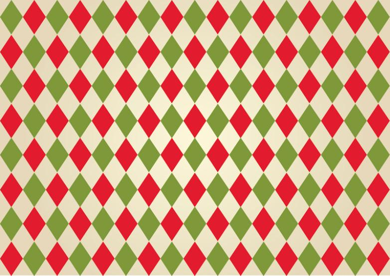 Red And Green Background Diamond Lattice Vector