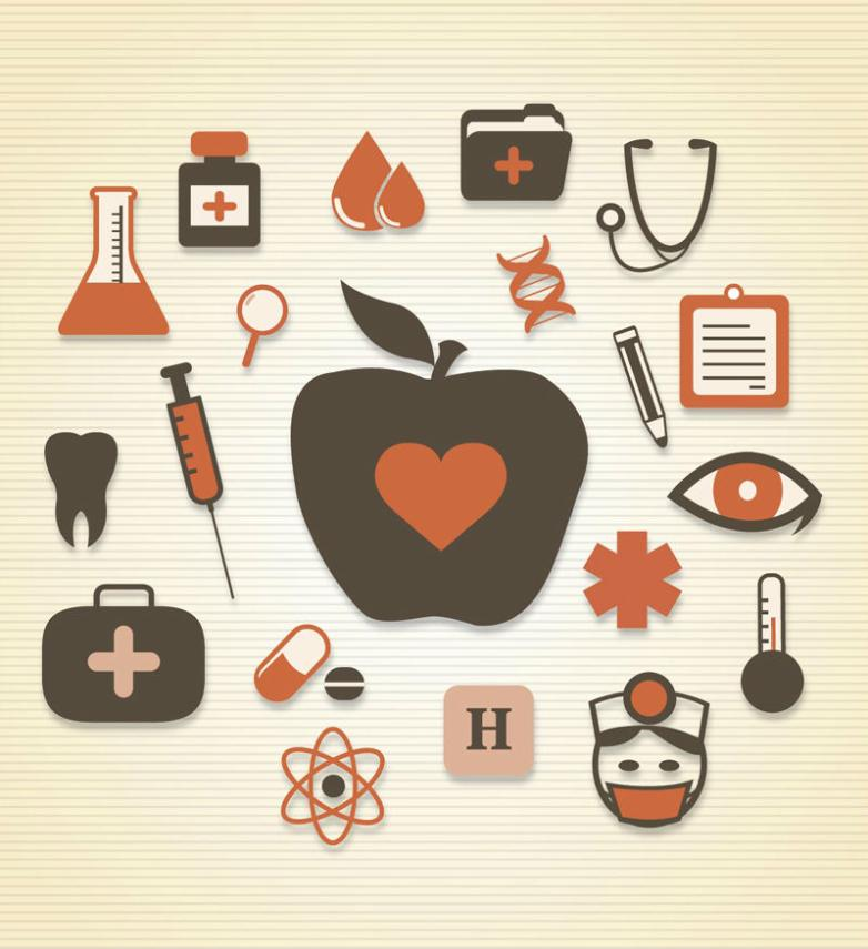 20 Health Icon Vector