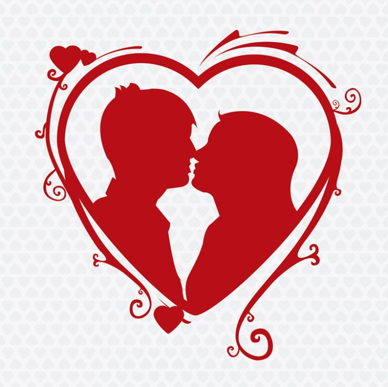 1546+ Couple Love Svg Red Ballons Best Quality File
