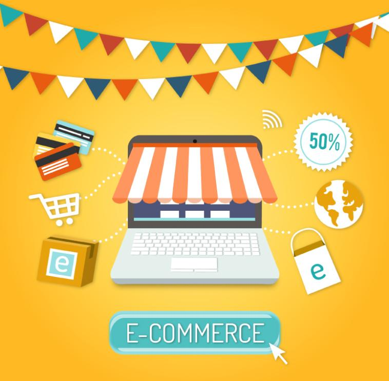 Creative E-commerce Illustrations Vector