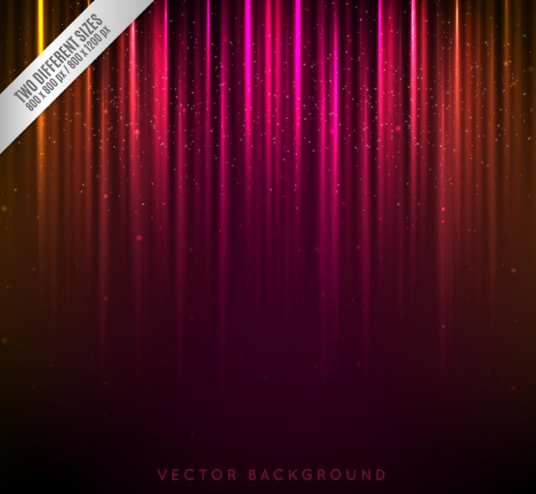 Fashionable Neon Color Background Vector
