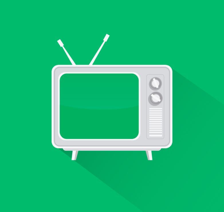 Creative Tv Restoring Ancient Ways Vector