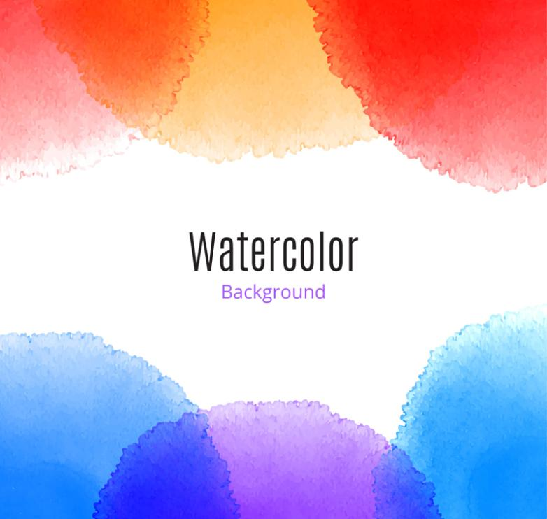 Creative Watercolor Background Vector