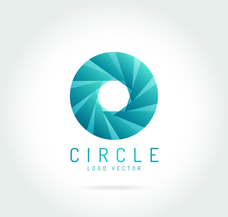 Creative Rings Logo Vector