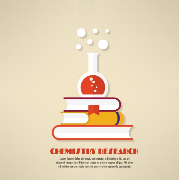 Illustrations Creative Chemistry Research Vector