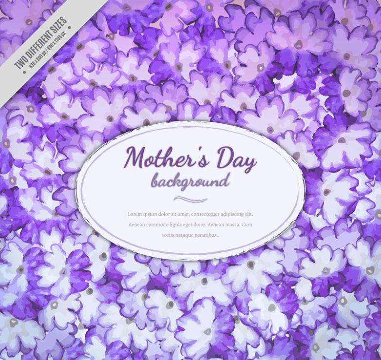 Water Purple Coloured Drawing Or Pattern South Court Mustard For Mother's Day Cards Vector