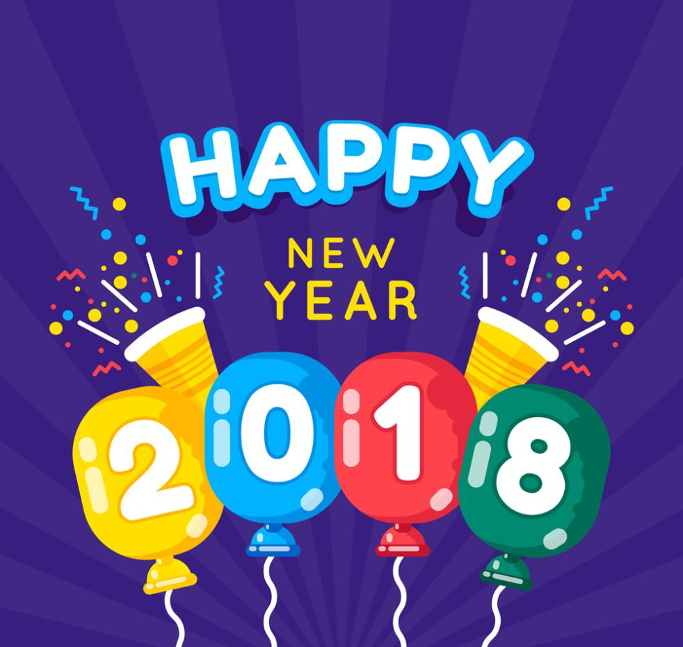 Colorful Balloons In 2018 Cards Vector