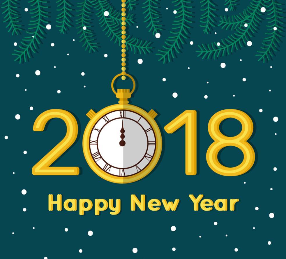 Golden Clock Art Words In 2018 Vector