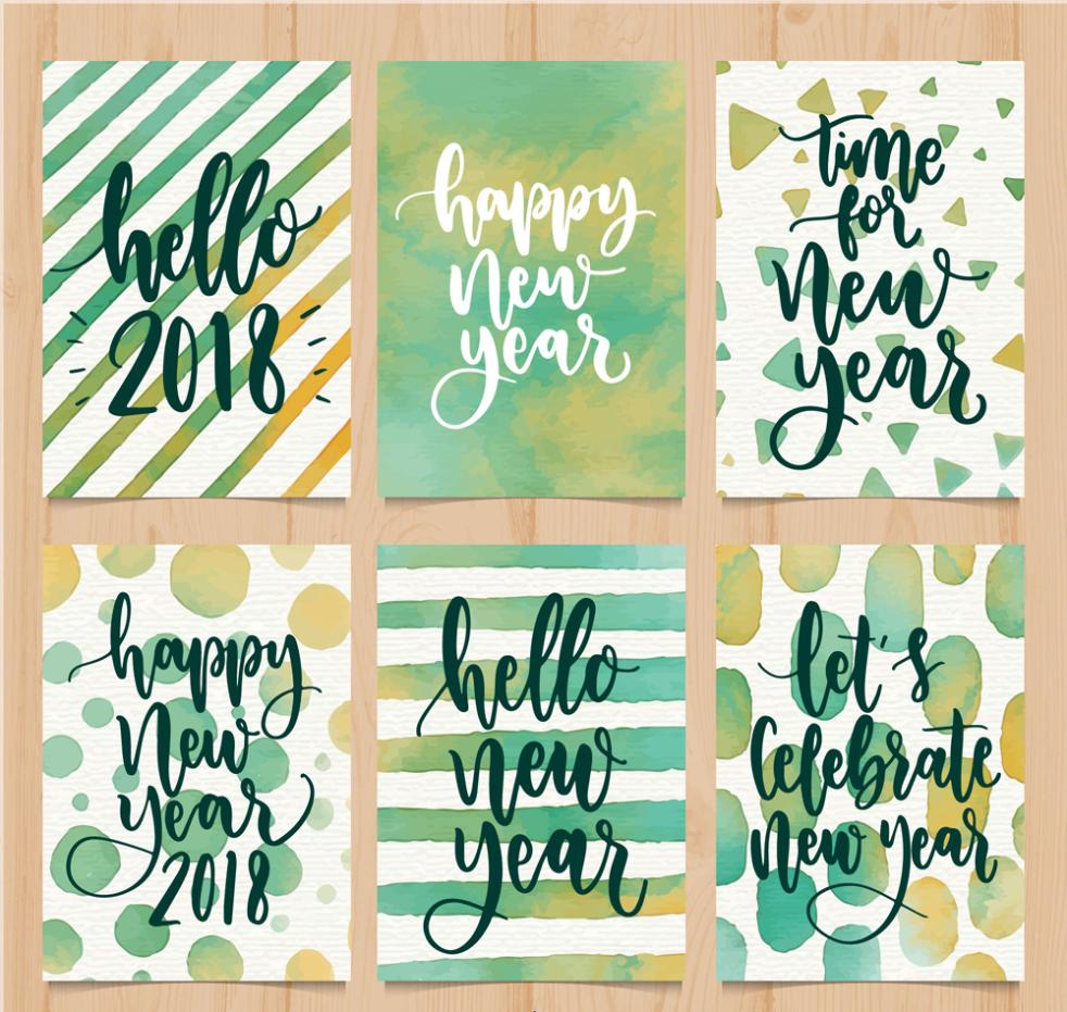 Six Coloured Drawing Or Pattern Card In 2018 Vector