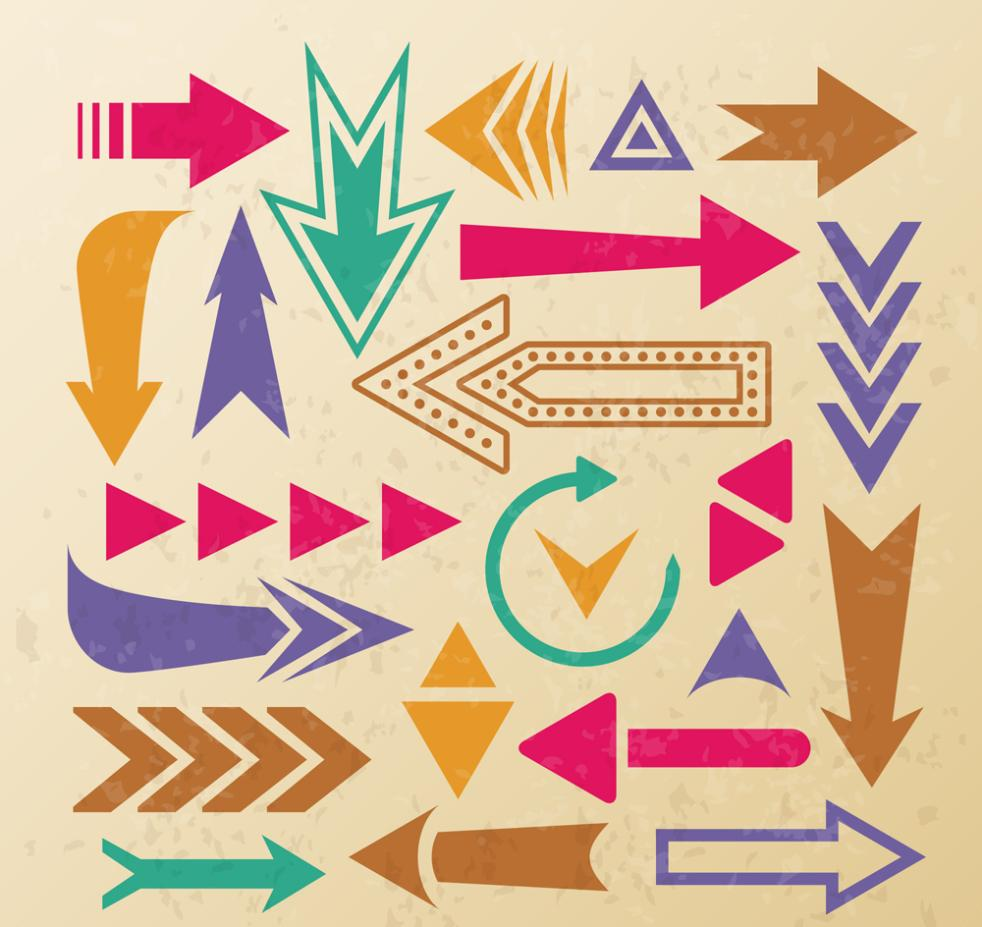 22 Color Restoring Ancient Ways Is The Arrow Vector