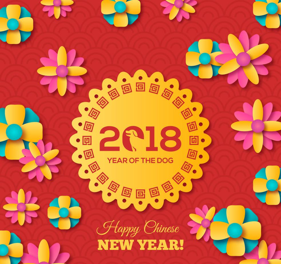 Colorful Flowers Cards In 2018 Vector
