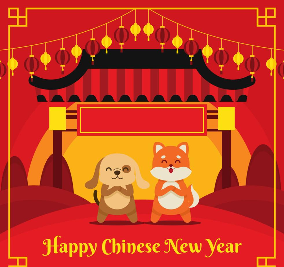 Blessing Of Cartoon Dog Card In 2018 Vector