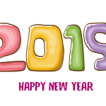 2019 Happy New Year 1 Vector