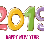 2019 Happy New Year 2 Vector