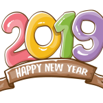 2019 Happy New Year 16 Vector