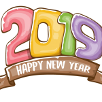 2019 Happy New Year 17 Vector