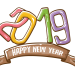 2019 Happy New Year 21 Vector