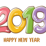 2019 Happy New Year 5 Vector