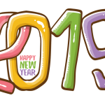 2019 Happy New Year 6 Vector