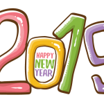 2019 Happy New Year 8 Vector