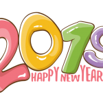 2019 Happy New Year 9 Vector