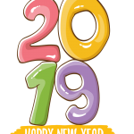 2019 Happy New Year 10 Vector