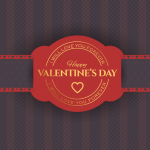 Happy Valentine Day Pattern Vector