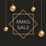 Christmas 2019 Rectangle effect Vector