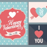Happy Valentine's Day You&Me Vector