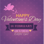 Happy Valentine's Day Every Day Vector