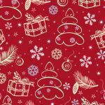 Christmas gift present 2019 Vector