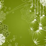 Christmas 2019 Snowflakes bubble  Vector