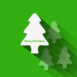 Multi body Christmas tree 2019 Vector
