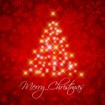 Glittering Christmas 2019 Vector