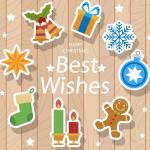Cartoon Christmas Variety 2019 Vector