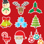 Cartoon Christmas Pictures 2019 Vector