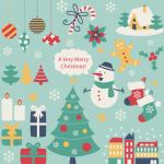 Christmas for all 2019 Vector