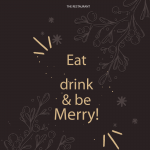 Christmas Menu Home Page 2019 Vector