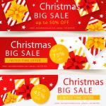 Christmas Cartoon Promotion Map 2019 Vector