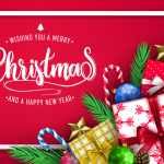 Christmas Gift Delivery 2019 Vector