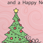 Cartoon Gifts Decorate Christmas Trees 2019 Vector